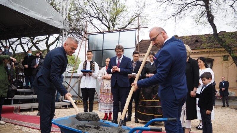 Subotica: Postavljen kamen temeljac za izgradnju Hrvatske kuće