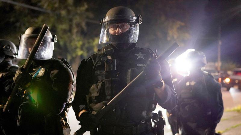 Demonstracije u Portlandu proglašene za nasilne