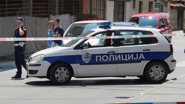 Sudar kod pumpe Zmaj u Beogradu