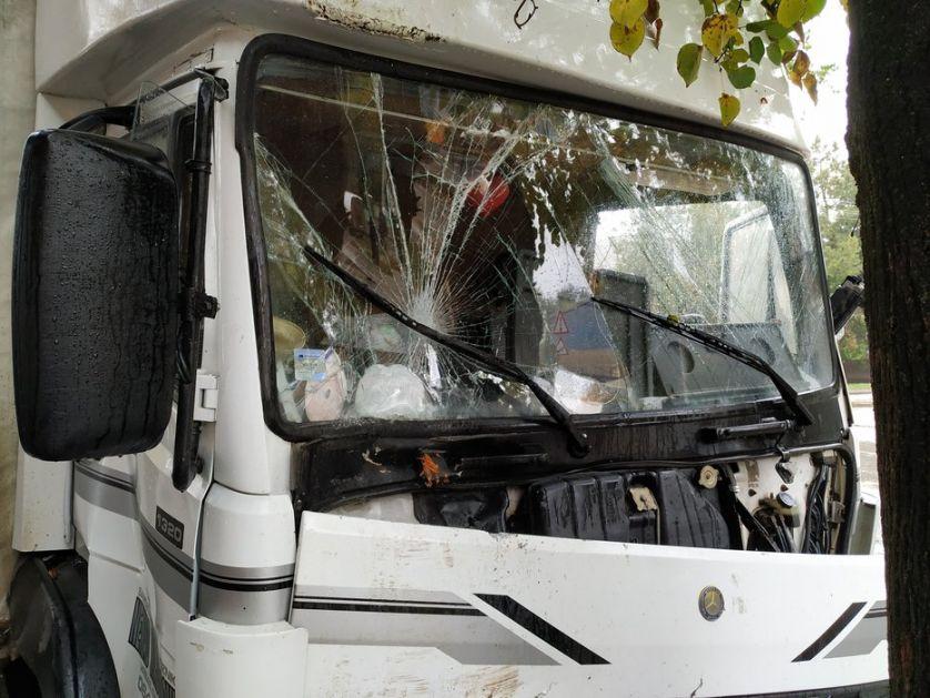 Sudarila se dva kamiona kod Bačke Topole, ima povređenih