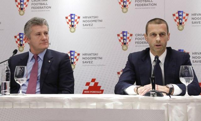 Šuker: Mi iz UEFA nećemo dopustiti urušavanje piramide