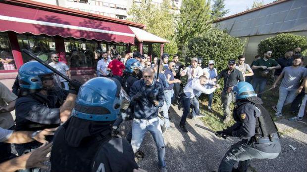 Sukob desničara i levičara zbog migranata u Rimu