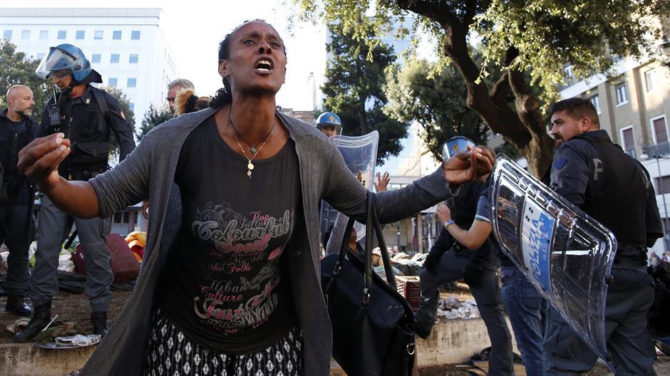 Sukob fašista i levičara u Rimu zbog migranata