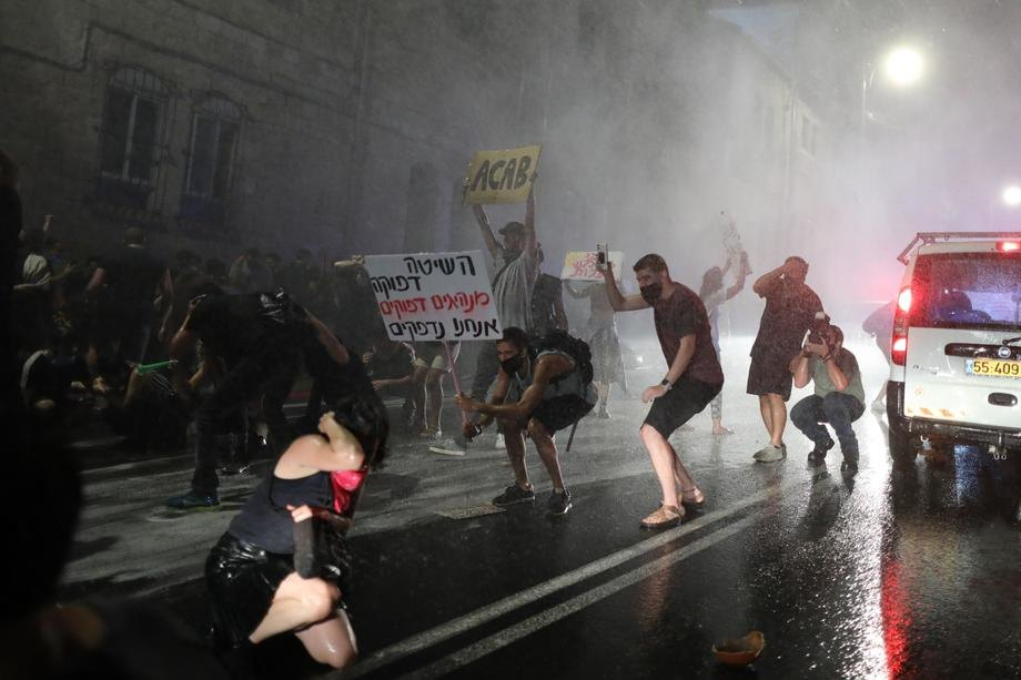Sukob izraelske policije i demonstranata blizu Tel Aviva