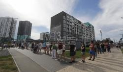 Sukobi beloruske policije i demonstranata u Minsku i Brestu posle zatvaranja birališta