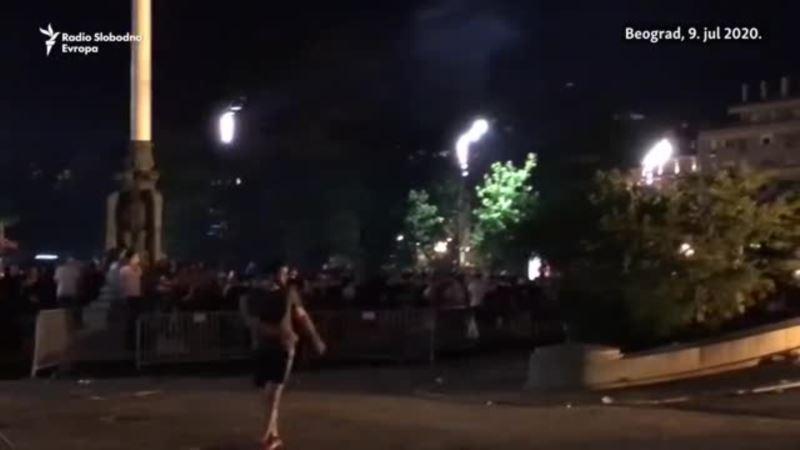Sukobi policije i huligana u Beogradu