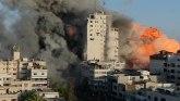Sukobi u Izraelu i Gazi: Bombardovana zgrada dok je BBC reporter uživo izveštavao