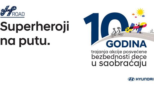 Superheroji već 10 godina na putevima Srbije