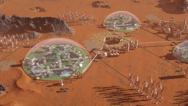 Surviving Mars besplatan na Epic Storeu