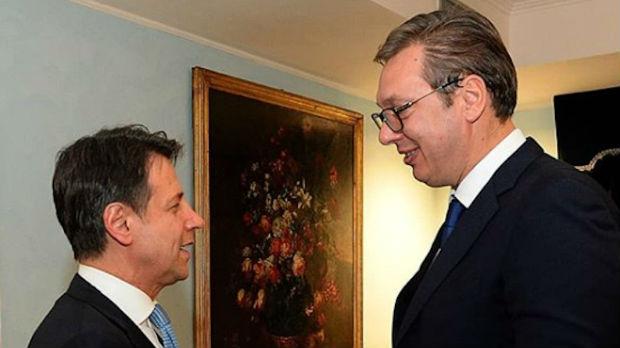 Susret Vučića i Kontea