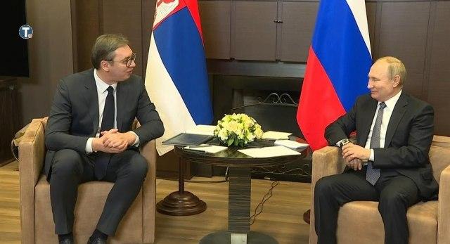 Susret Vučića sa Putinom: Neće biti problema oko isporuke ruskog gasa