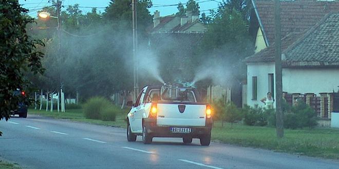Sutra zaprašivanje komaraca u Kikindi