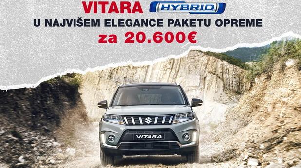 Suzuki Vitara Hybrid po specijalnim cenama
