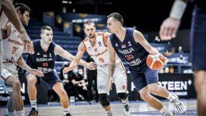 Švajcarska pobedila Srbiju u košarci