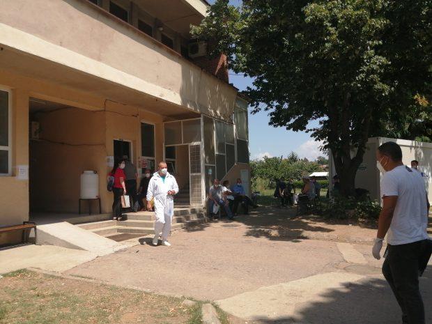 Sve manje pacijenata u kovid bolnicama u Vranju