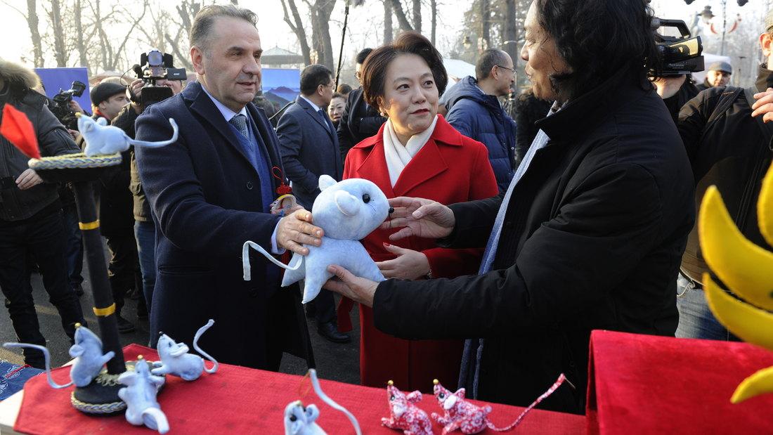 Svečano otvoren kineski novogodišnji vašar u Beogradu