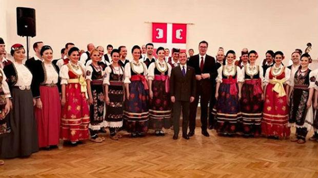 Svečanom večerom završena poseta Medvedeva