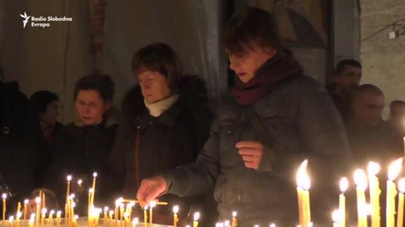 Sveće za Olivera Ivanovića u Beogradu