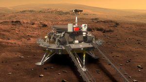 Svemir, istraživanja, Kina: Rover Žurong uspešno sleteo na Mars