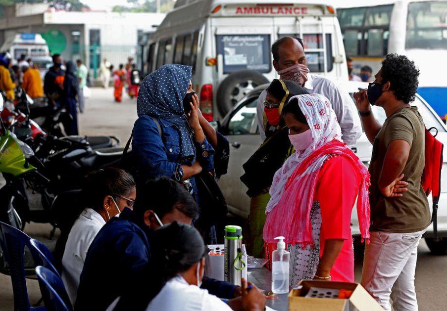 Svet: Broj obolelih od kovida-19 u Indiji premašio 24 miliona