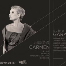 Svetska operska diva Elina Garanča po prvi put u Beogradu, u ulozi Karmen