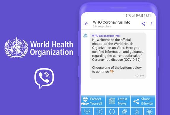 Svetska zdravstvena organizacija i Viber: Borba protiv dezinformacija o COVID-19!