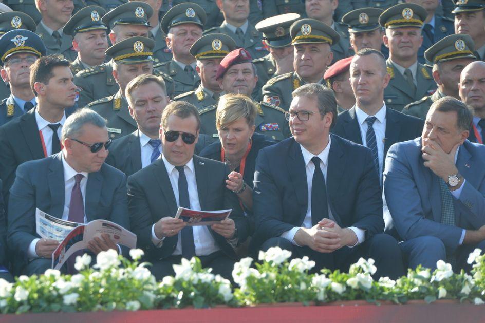 Svetski i regionalni mediji o poseti ruskog premijera
