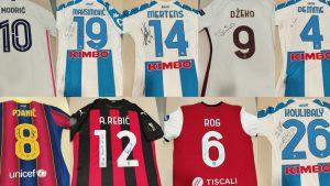 Svetski igrači se priključili Ronaldu i Mesiju na Mozzartov poziv i poklonili svoje dresove za pomoć malom Gavrilu