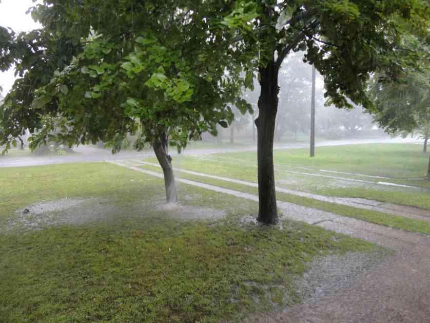 Svežije sa kišom