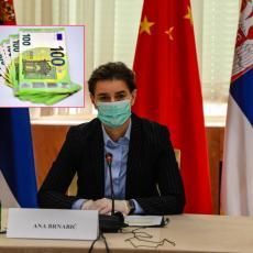 Svi su se pitali da li je na spisku: Ana Brnabić objasnila zbog čega se nije prijavila za 100 evra