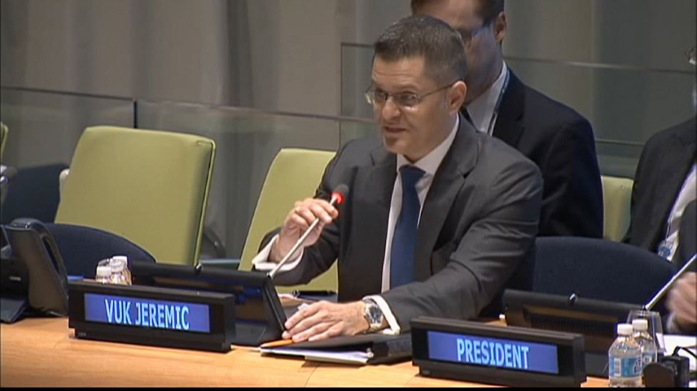 SZS: Jeremić u UN kao bivši predsednik Generalne skupštine
