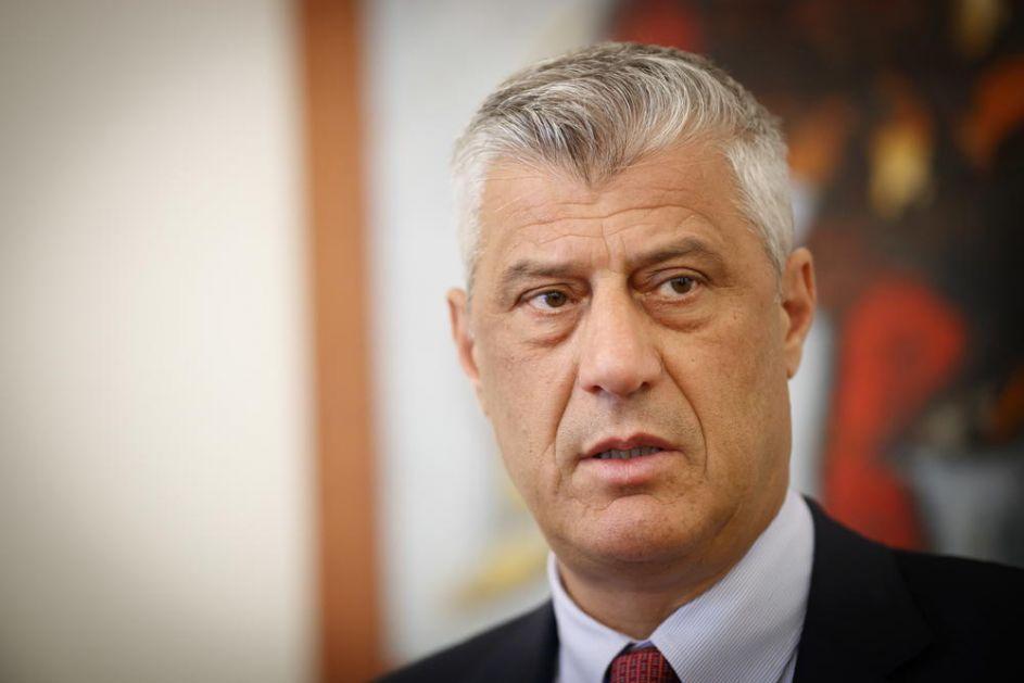 TAČI POZVAO HOTIJA: Što pre formirati novu Vladu u Prištini