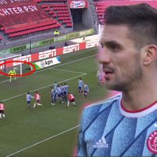 TADIĆ JUNAK KOPLJANIKA: Srbin pogodio u nadoknadi protiv PSV-a! Ali kakva GOLČINA IZ SLOBODNJAKA (VIDEO)