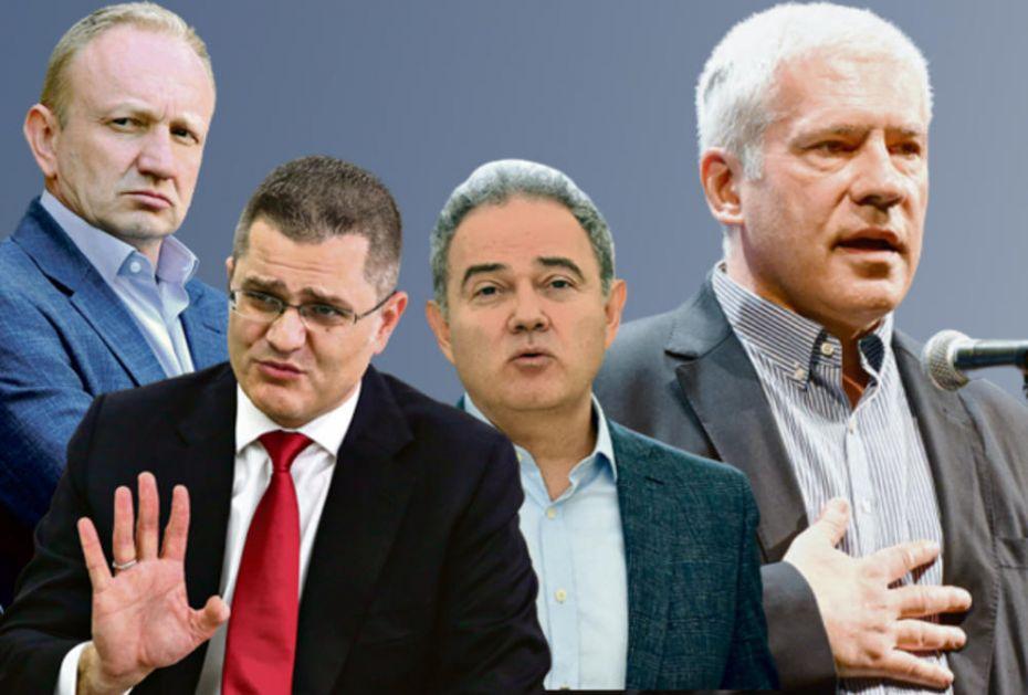 TADIĆU, POČISTI ZA SOBOM: Đilasa, Jeremića i Lutovca stvorio bivši šef države, sada im je vreme da se sklone u stranu