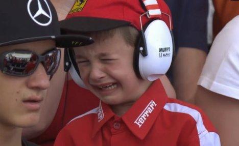 TAKO POSTUPAJU ASOVI Mališan se rasplakao zbog Raikonena, kada ga je video Finac se poneo šampionski