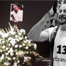 TAKVA LJUBAV RETKO SE VIĐA: Emotivna poruka Partizana, SUZE na komemoraciji Grua! (VIDEO)