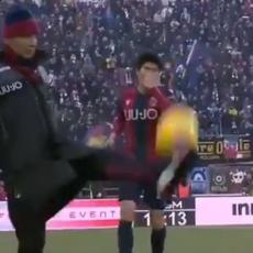 TALIČNI MIHA: Radost u Boljonji! Siniša ŽONGLIRAO pored terena (VIDEO)