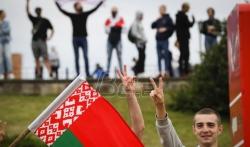 TASS: Privedeni demonstranti ispred beloruske ambasade u Moskvi