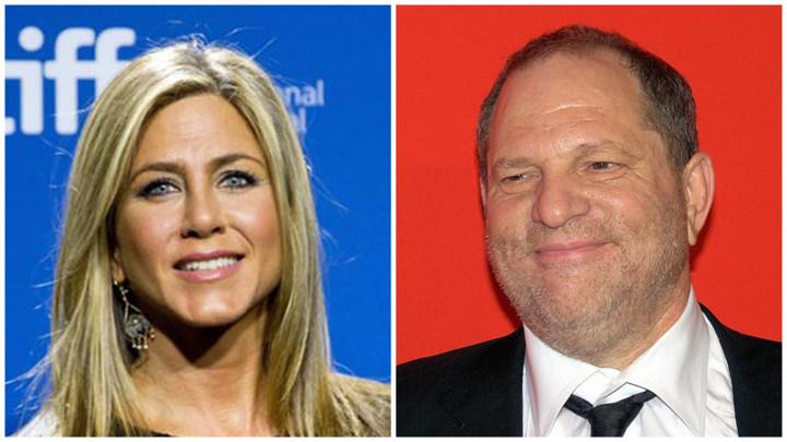 TERAO ME JE DA NOSIM HALJINU NJEGOVE ŽENE! Dženifer Aniston nazvala seksualnog predatora Holivuda SVINJOM! (FOTO)