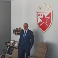 TERZIĆ OTVORIO VRATA: Pogledajte kako izgleda RENOVIRANA kancelarija generalnog direktora Zvezde