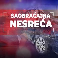 TEŠKA NESREĆA KOD VRANJA: Sudar dva automobila, povređene četiri osobe