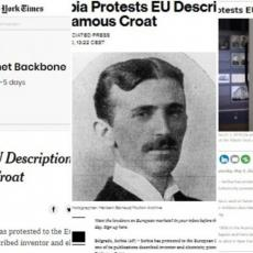 TESLA JE SRBIN! Svetski mediji bruje o protestu Srbije zbog širenja laži da je srpski naučnik Hrvat