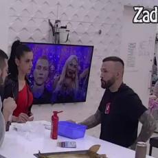 TI SAMO ZBOG NJE OVAKO REAGUJEŠ! Dragana prišla Ša, pa pokušala da sazna zašto je pokušao pobeći! (VIDEO)