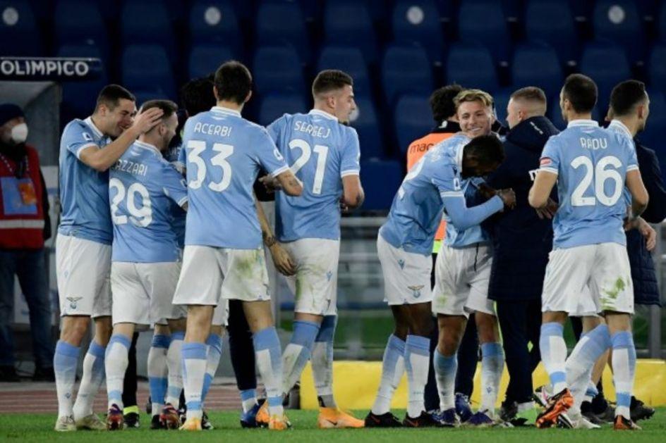 TO JE FUDBAL: Igrači Lacija pre gola Romi vezali 22 dodavanja! Svih 11 fudbalera imalo je kontakt sa loptom VIDEO