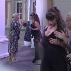 TO JE SRAMOTA: Miljani ispale grudi naočigled SVIH na žurki, a onda je Marija napravila LOM (VIDEO)