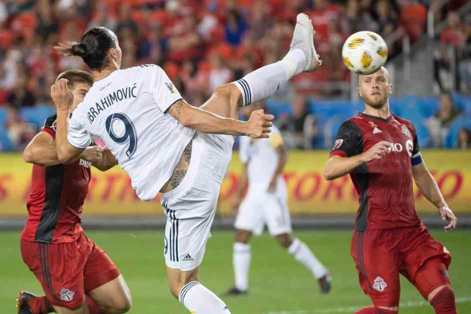 TO MOŽE SAMO ZLATAN! Postigao je 500. gol u karijeri... I TO KAKAV! Ceo svet priča o KUNG FU majstoriji  Ibrahimovića! (VIDEO)