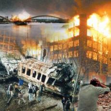 TOG DANA POGINULA JE BOJANA, BEBA OD DEVET MESECI, U ZAGRLJAJU SVOG OCA Vaskrs 1999 - dan najžešćeg udara na Srbiju