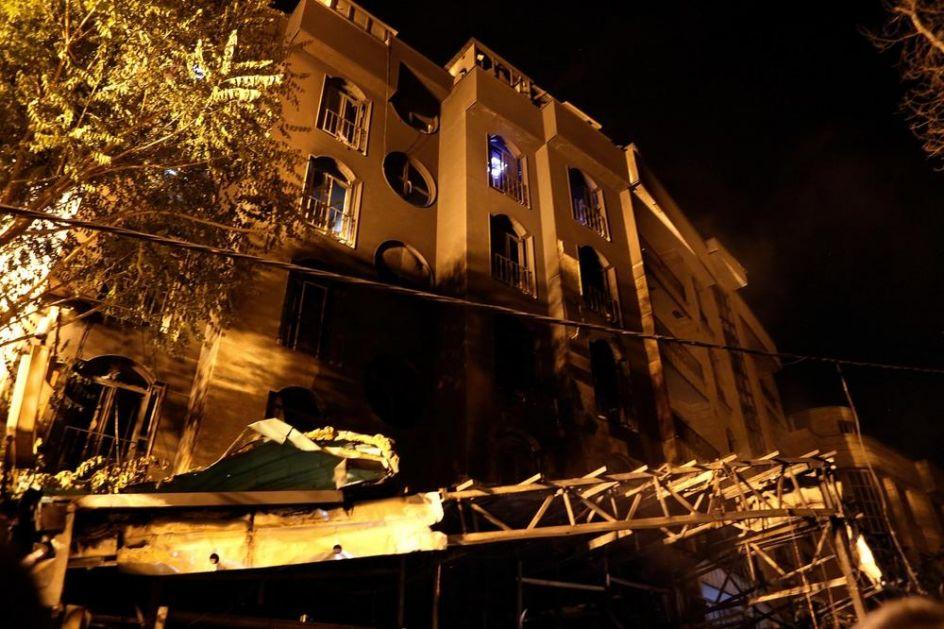 TRAGEDIJA U IRANU: Eksplozija gasa u bolnici u Teheranu, poginulo 19 ljudi, ima i povređenih (VIDEO)