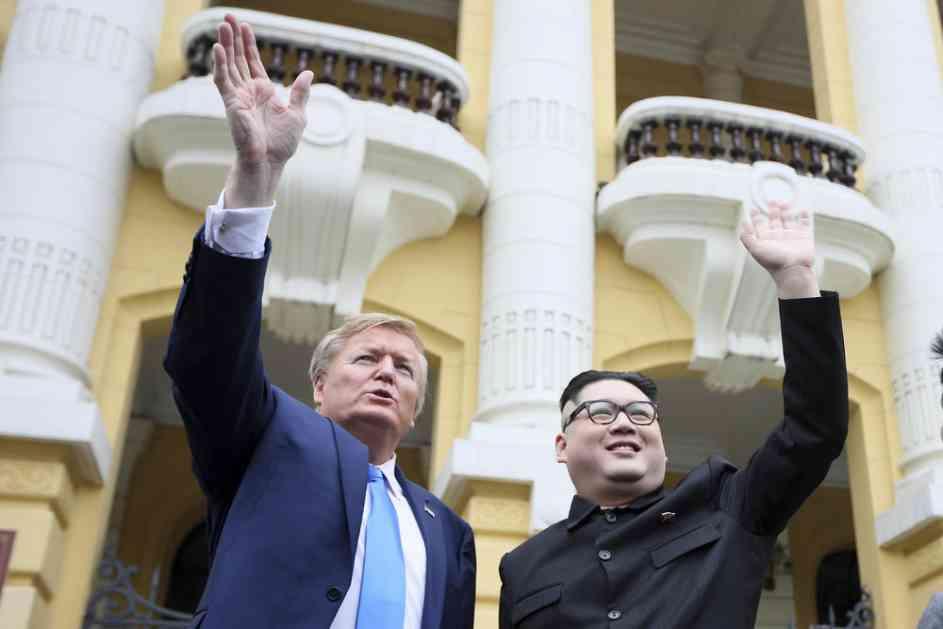 TRAMP I KIM UHAPŠENI U HANOJU: Imitatori dva lidera zadržani u hotelu, navodno zbog njihove bezbednosti (VIDEO)