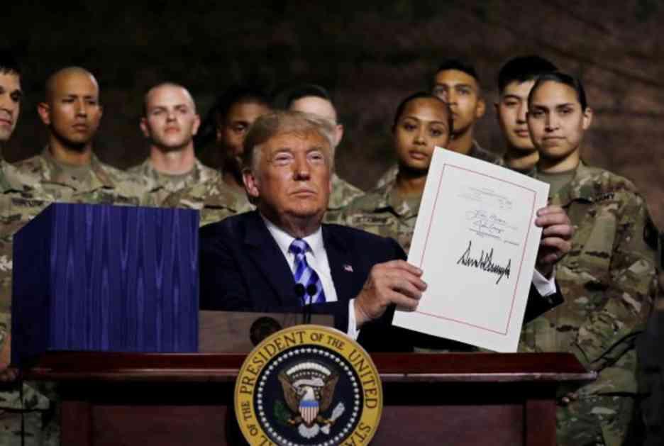 TRAMP MAMI NOVE SAVEZNIKE: Potpisao novi zakon o odbrambenoj politici, daje koncesije svima koji kupe AMERIČKO ORUŽJE, a odbace RUSKO